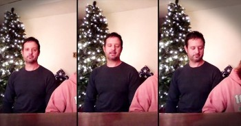 Man Sings Heartfelt Original - 'Daddy, I Pray For You'