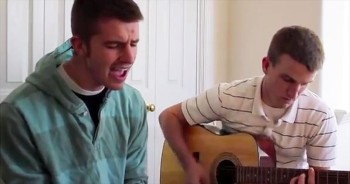 2 Boys Perform Uplifting Original 'Live For A Change' – AMEN!