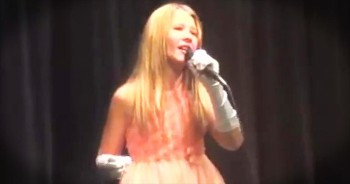 Molly Rae sings Carrie Underwood's Keep Us Safe
