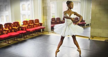 Orphan Defies Odds To Become World-Class Ballerina