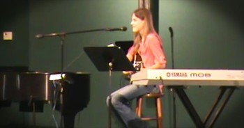 12-Year-Old Sings Original Song 'Dancing With Jesus'