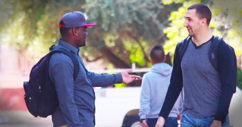 Man Surprised By Kind Strangers On Street