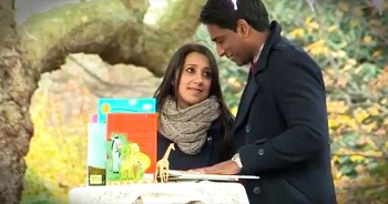 Man Uses Original Children's Book To Propose