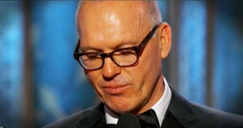 Emotional Golden Globe Acceptance Speech By Michael Keaton