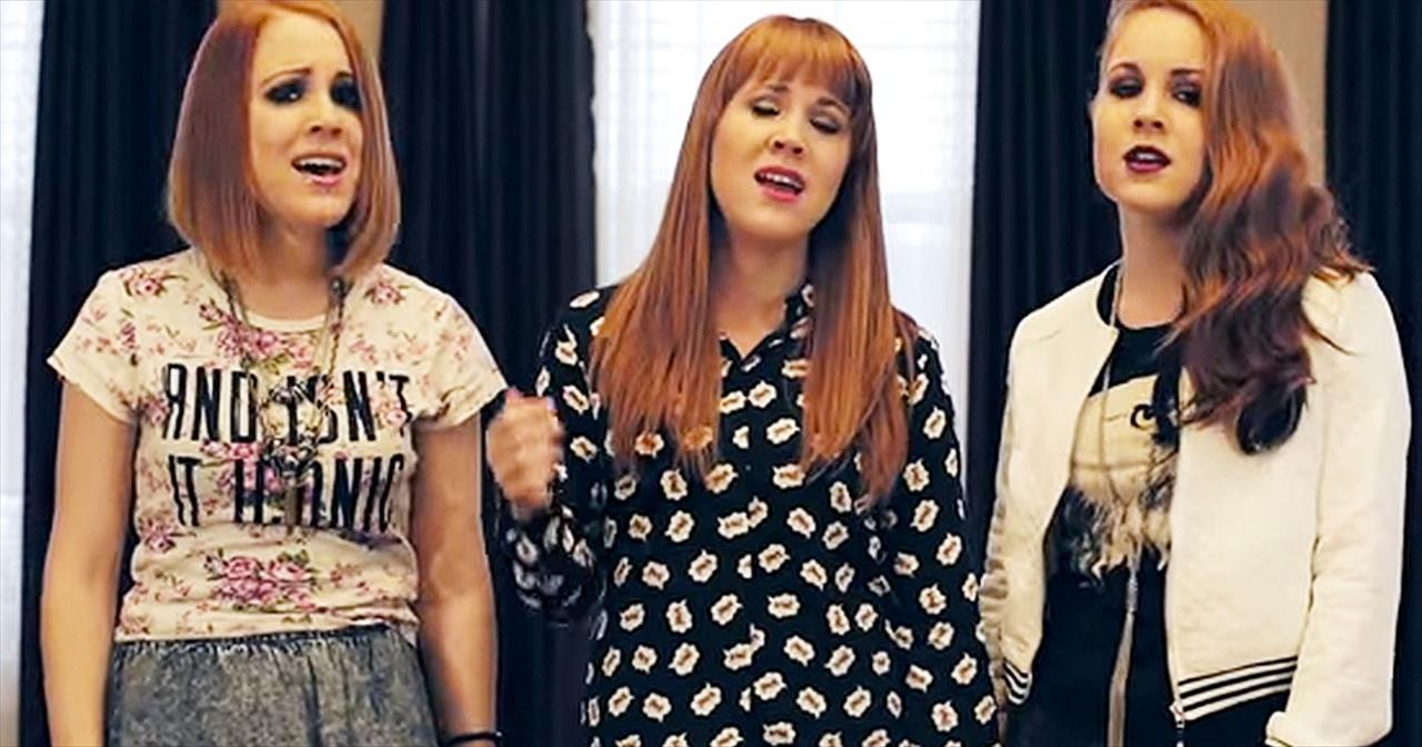 3 Talented Sisters Sing A Cappella Version Of The Star-Spangled Banner