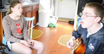 Talented Siblings Sing Incredible Cover Of 'Hero'