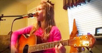 11 year old Molly Rae sings Carrie Underwood's Something in the Water