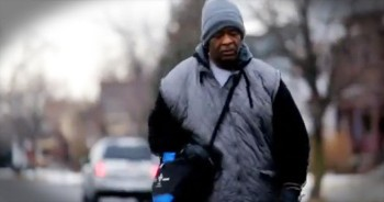 Man Who Walks 20 Miles To Work Everyday Gets A Heartwarming Surprise