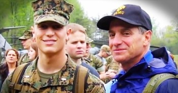 Father Enters Military After Marine Son Dies Overseas