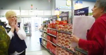 Couple Reunites For Precious Proposal At Wal-Mart After Being Divorced 43 Years