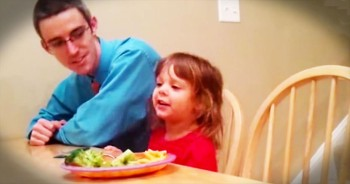Adorable Little Girl Raps Nursery Rhymes With Beatboxing Dad