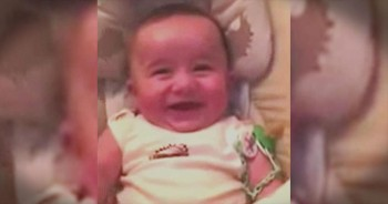 Baby's Adorable Laugh Will Have You Giggling For Days