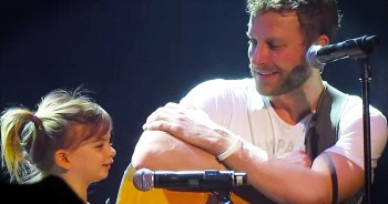 Country Star Dierks Bentley Brings Daughter On Stage To Sing Heartfelt Song Together