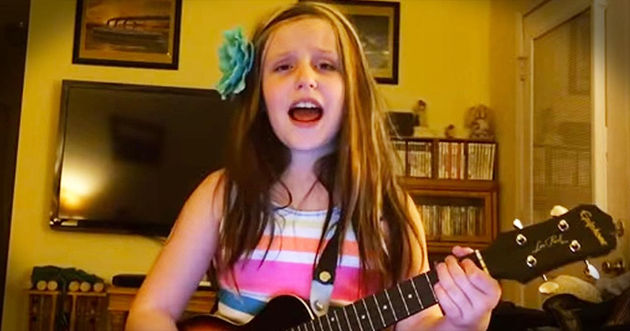 Young Girl Brings The CHILLS With Bluegrass Rendition Of 'Amazing Grace'