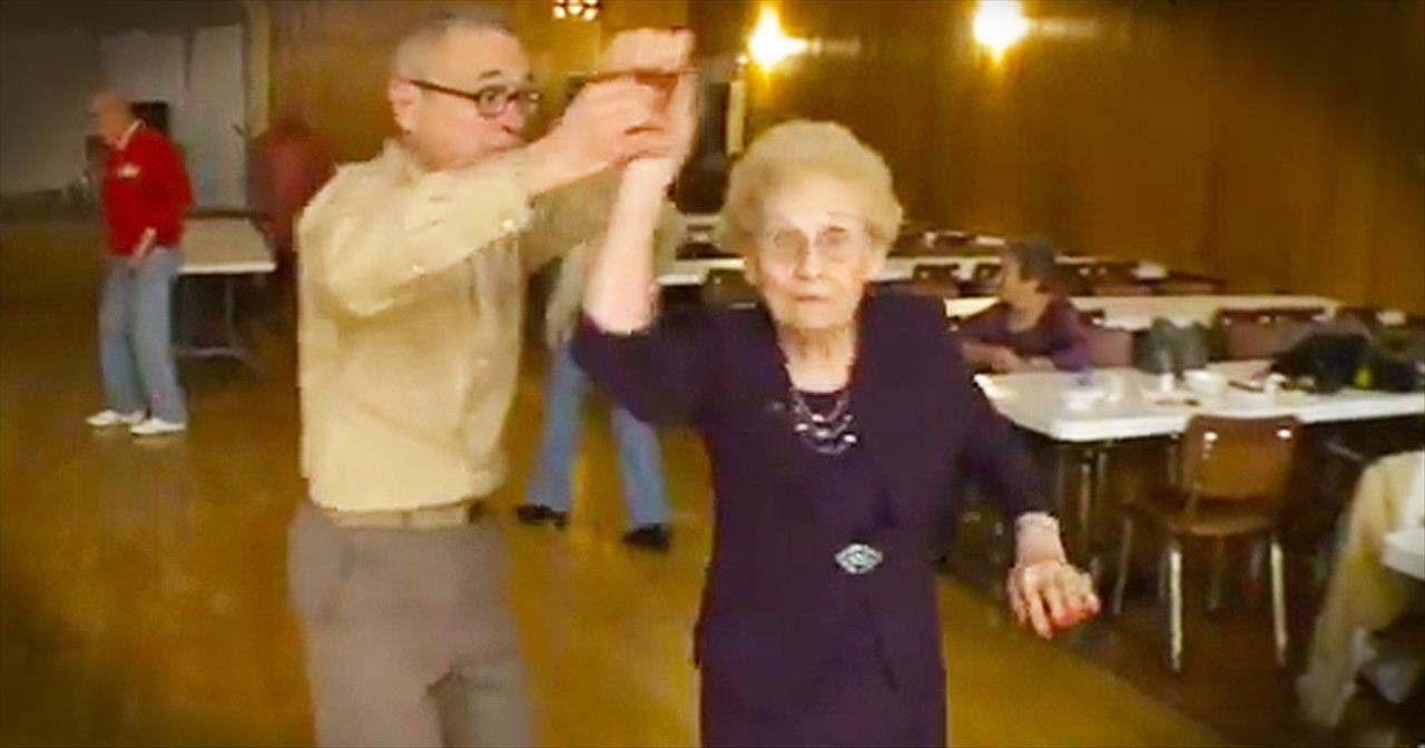 100-Year-Old Woman Continues To Spread Cheer Through Dance