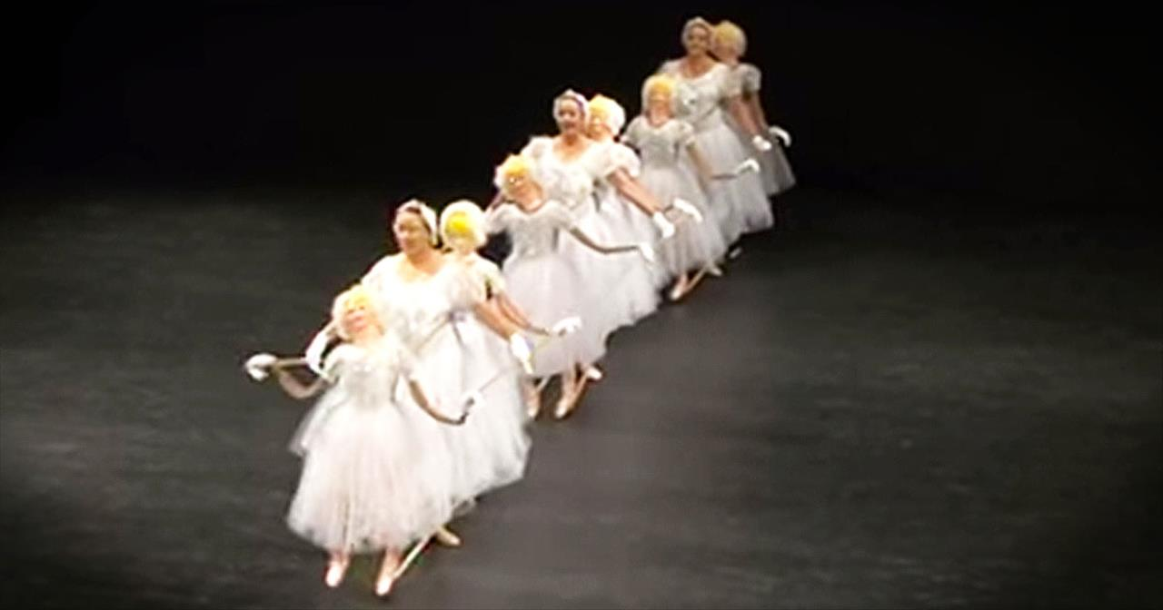 Hilarious Ballet Routine Will Leave You In STITCHES