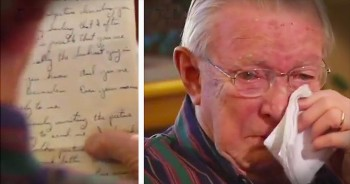 WWII Vet Reads Long Lost Love Letter