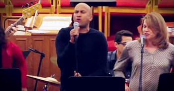 Comedian Keegan Michael Key Sings 'Whenever God Shines His Light' At Church
