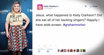 Internet Troll Lashes Out At Pop Star Kelly Clarkson And Her Appearance