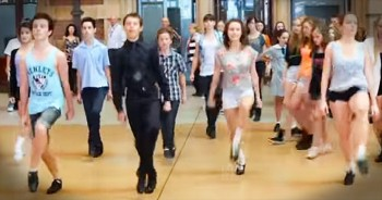 Mind-Blowing Irish Flash Mob Will Leave Your Jaw On The Floor