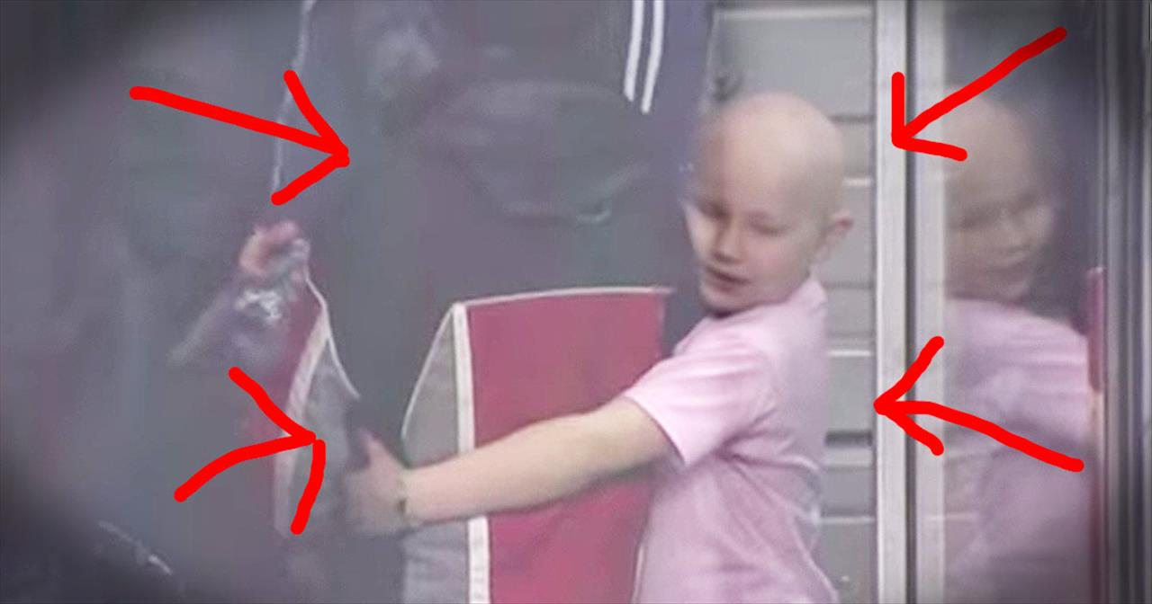 Kind Boy Gives Young Girl Fighting Cancer An Incredible Surprise