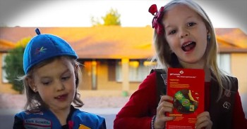 2 Precious Girl Scouts Create Hilarious Parody To Sell Cookies