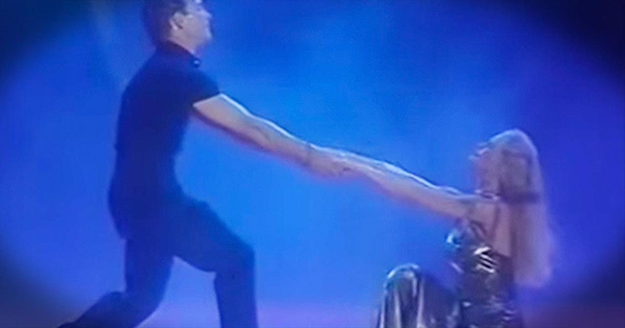 Patrick Swayze And Wife Brought The World To Tears With This Touching Tribute Dance