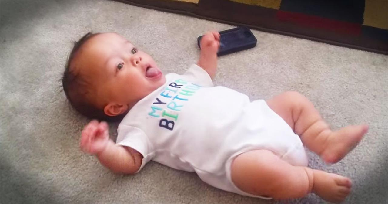 This Baby Has Some SERIOUS Dance Moves!