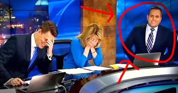 Weatherman Has Hilarious Wardrobe Malfunction