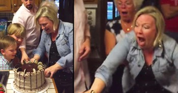 Expectant Mom Of 6 Boys Has The BEST Reaction To Gender Reveal