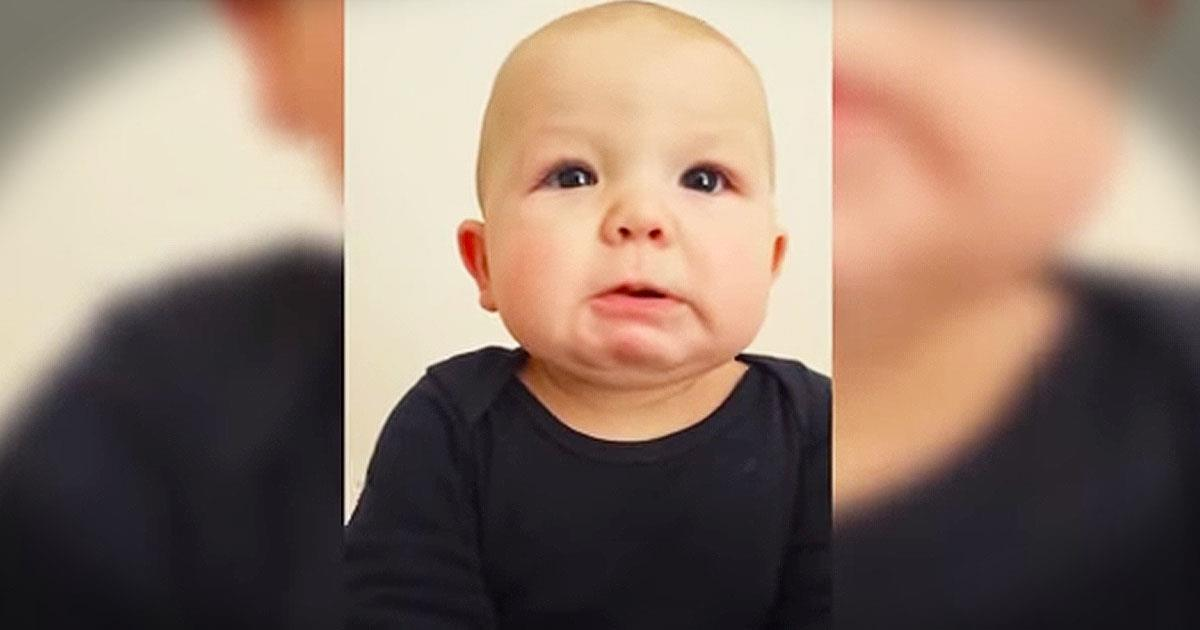 Baby Cries At Daddy's 'Bad' Singing - Comedy Videos