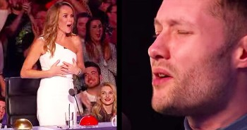 26-Year-Old's Emotional Audition Gets Simon To Do The UNTHINKABLE