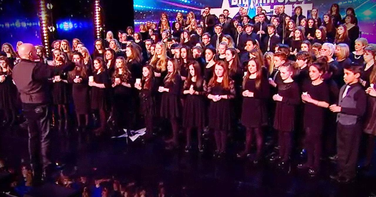 160-Piece Welsh Choir Will Send Chills Straight Up Your Spine