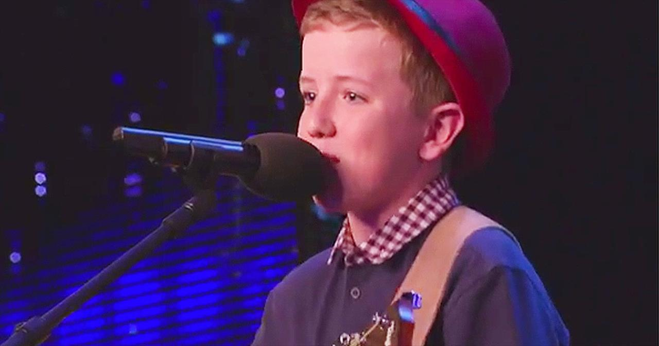 Little Boy Auditions With Song Written For His Crush