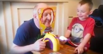 Funny Game With Grandpa Brings The LOLs
