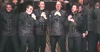 Incredible Barbershop Choir Surprises Crowd With THIS