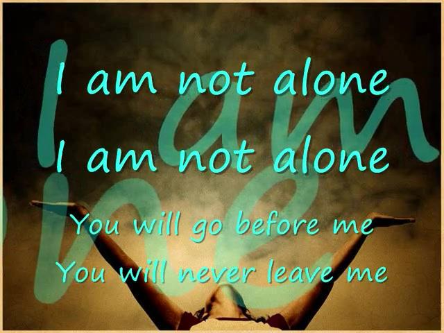 I am not alone by kari jobe cover christian music videos Deniece williams i come to the garden alone