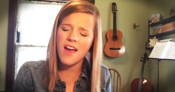 Molly Kate Kestner Sings Original 'Mom's Song' for Mother's Day