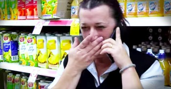 Surprise Reunion In Cereal Aisle Leaves Mother In Tears