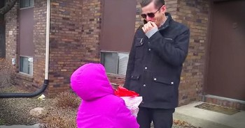 Colorblind Father Experiences A World Full Of Color For The 1st Time