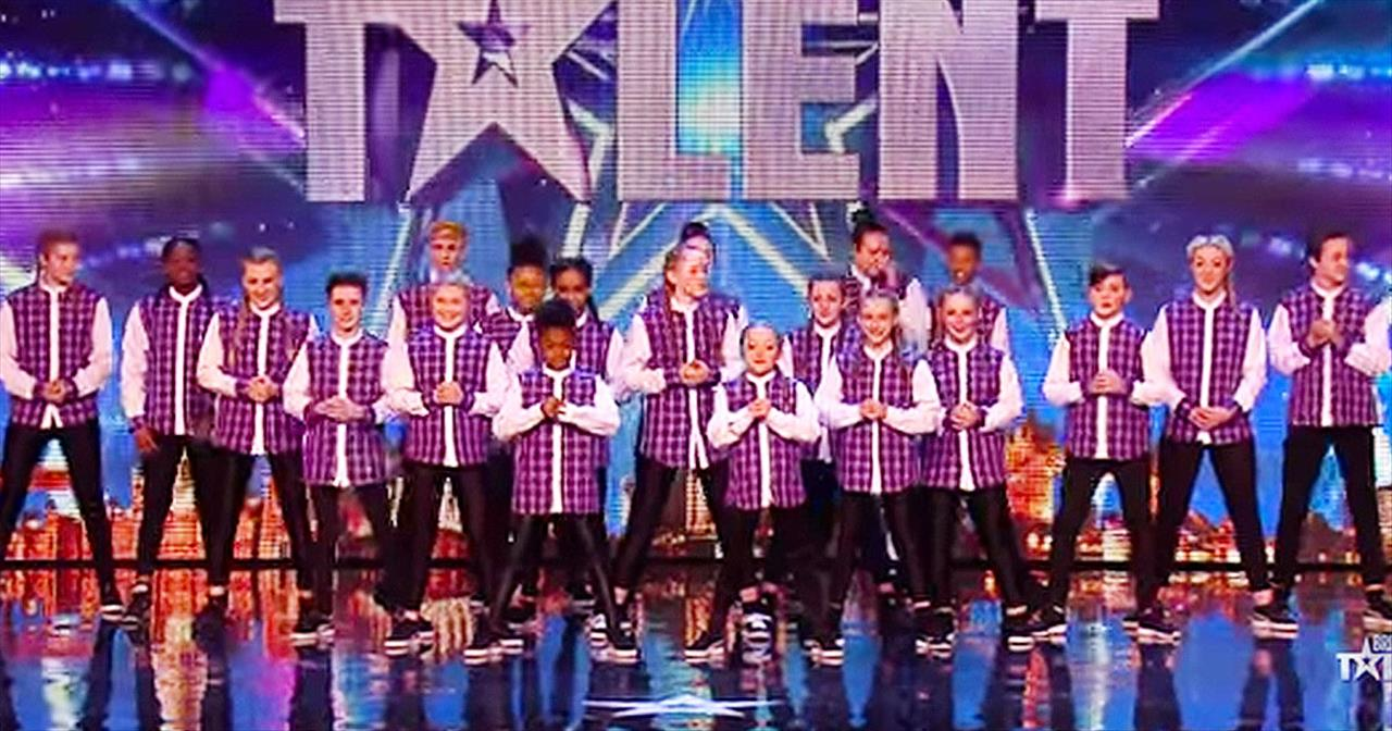 Talented Kid's Dance Group Gets The Judges To Do THIS!