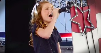 11-Year-Old Sings Spine-Tingling Version Of 'The National Anthem'