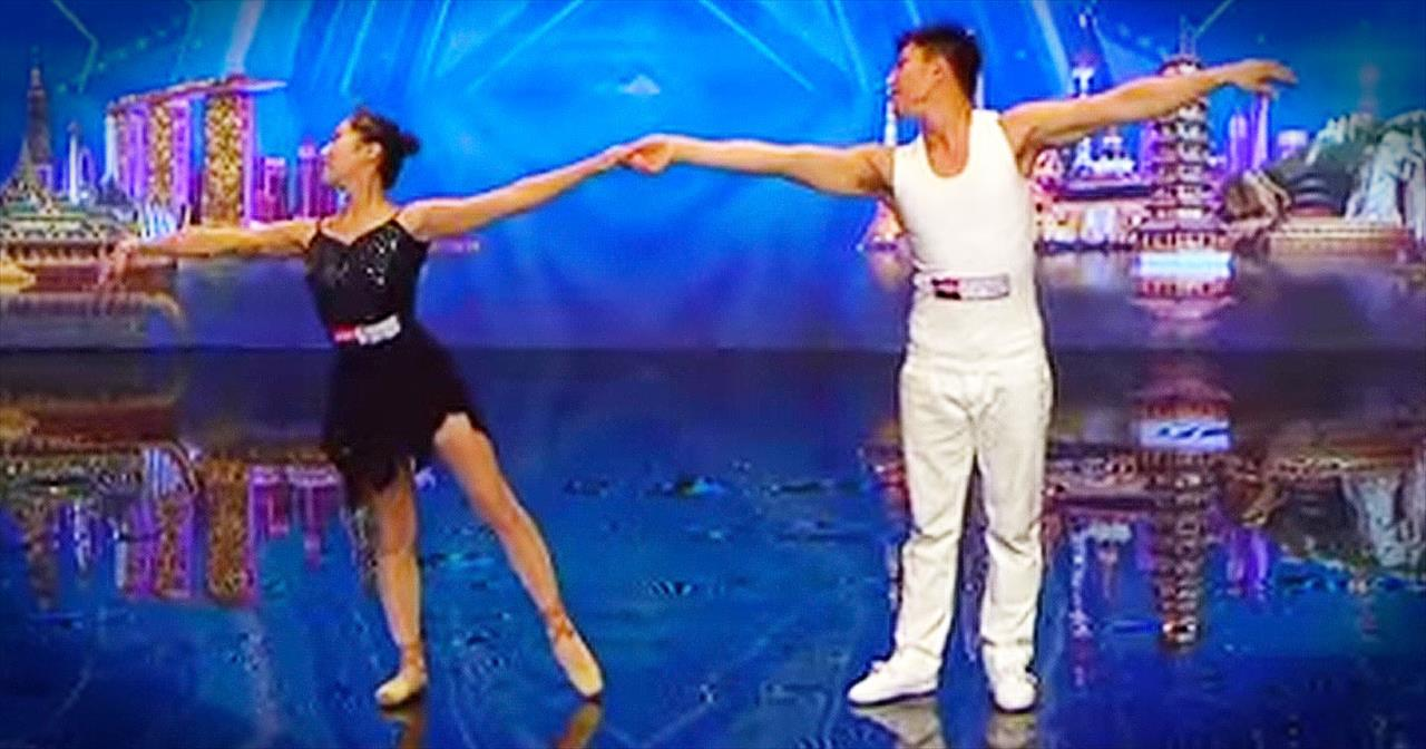 Beautiful Ballet Routine Delivers Unbelievable SHOCK