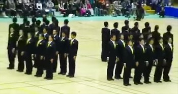 Japanese Synchronized Precision Walking Will Leave You In AWE