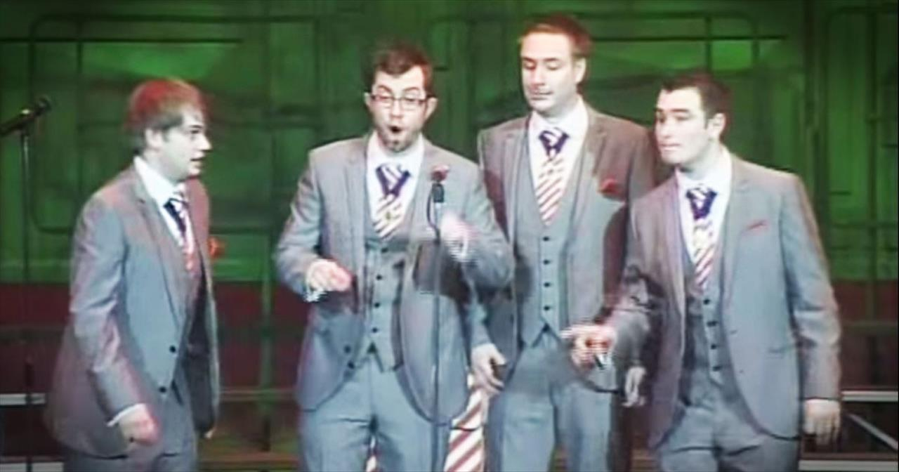 Talented Barbershop Quartet Sings You Through The Evolution Of Song