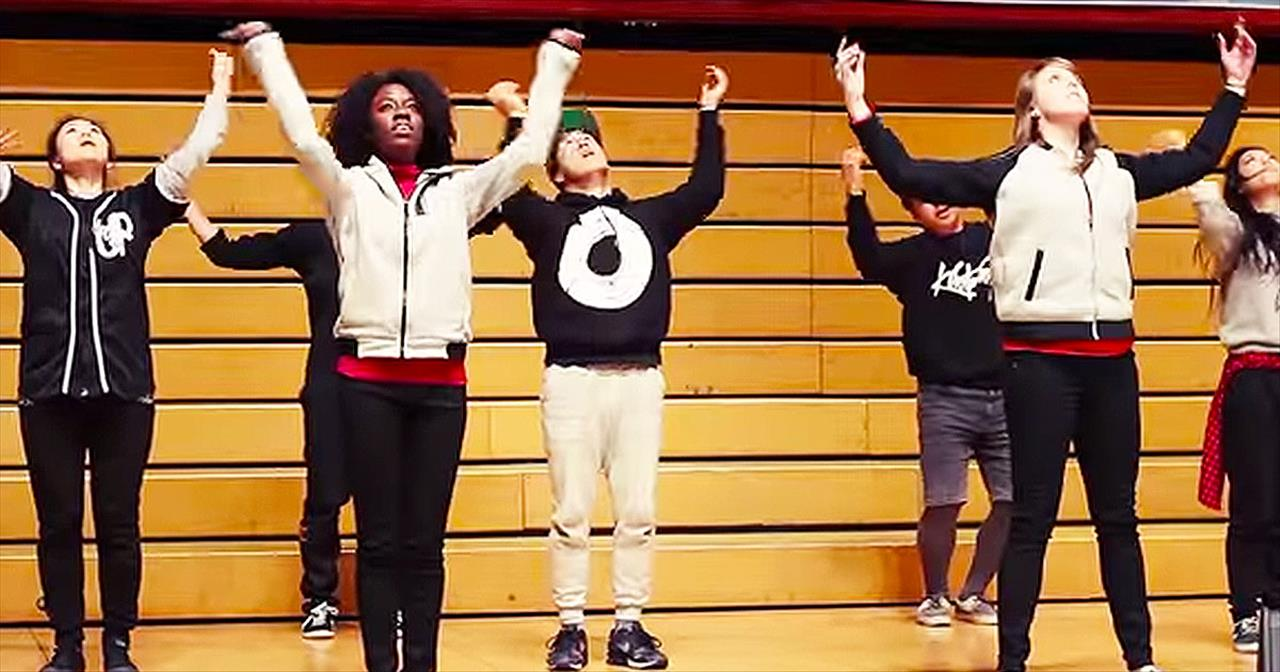 Mind-Blowing Dance Crew Performs To Popular Worship Songs