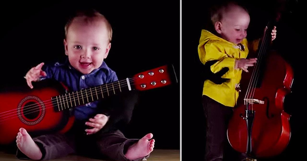 8-Month-Old Has The CUTENESS 1-Baby Band