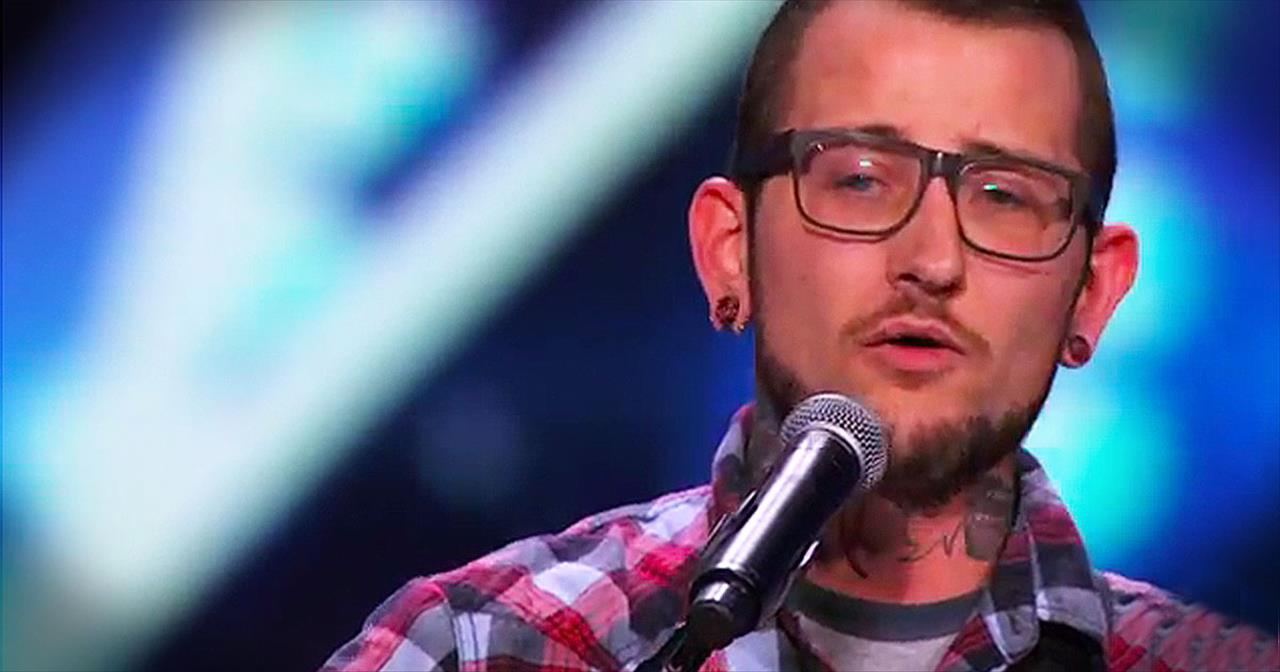 Singer Auditions With Emotional Song For Son He Lost To Cancer