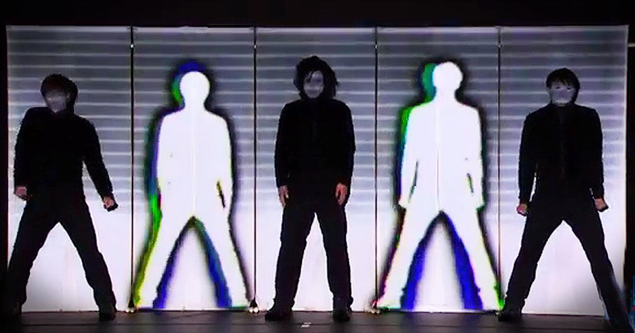 Mind-Blowing Technodelic Dance Troupe Leave Everyone Speechless