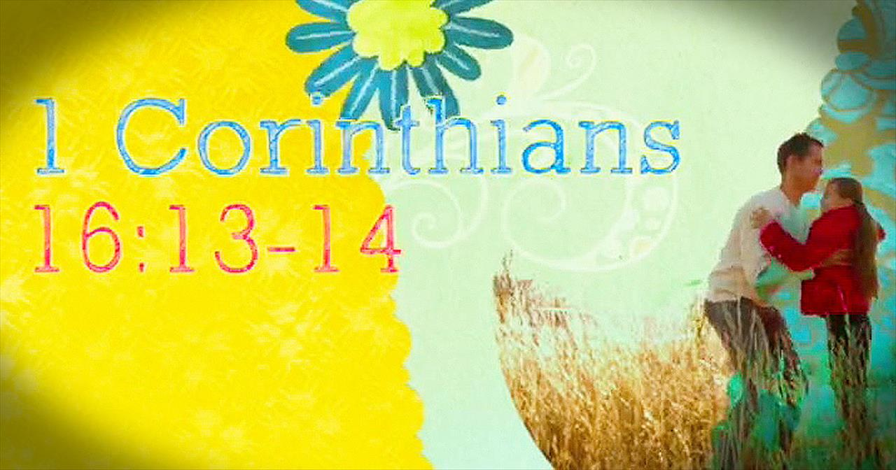 Incredibly Sweet Version of 1 Corinthians 16 Had Us Smiling from Ear to Ear